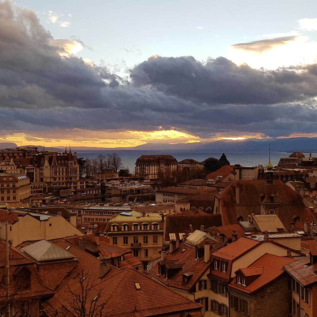 Lausanne vue